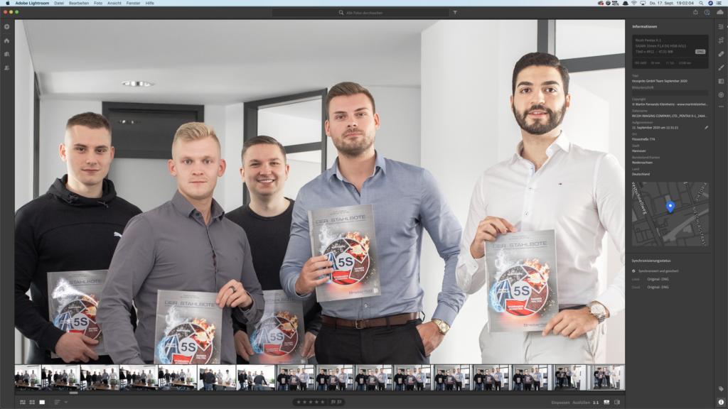 PC fuer Bildbearbeitung Lightroom Zoom 100%